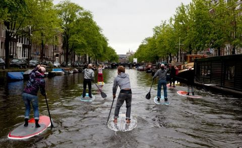Paddle Boarding The Netherlands