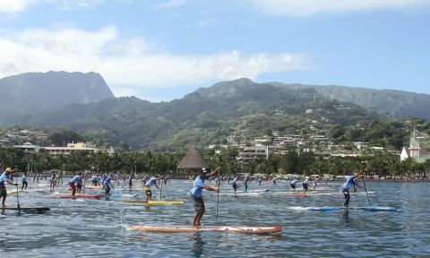 The 2nd Annual Air France Paddle Festival was a massive success with record participation. | Photo: Supconnect