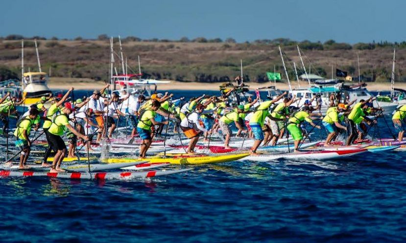 Paddle Boarding's elite will go head-to-head at the 2016 Molokai 2 Oahu Paddleboard Championships. | Photo Courtesy: M2O