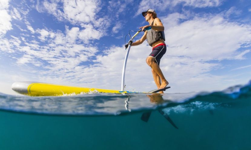 Hobie's new product the Mirage Eclipse. | Photo: Hobie