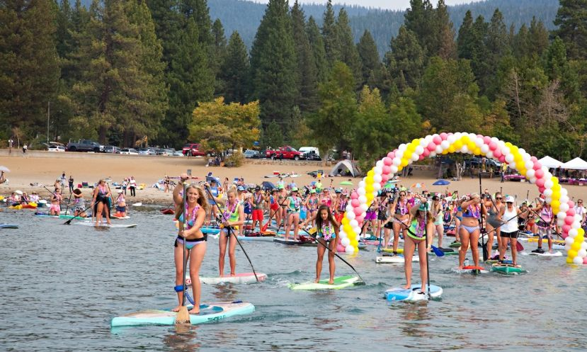 Butterfly Effect 2015 at Lake Tahoe. | Photo via: Butterfly Effect