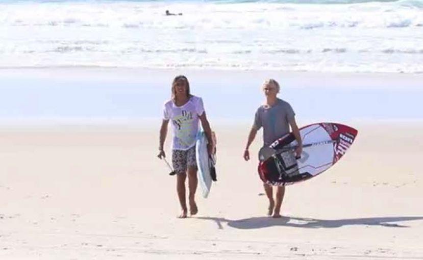 Giorgio Gomez SUP Surfing