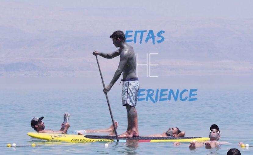 Mo Freitas's SUP Trip To Israel