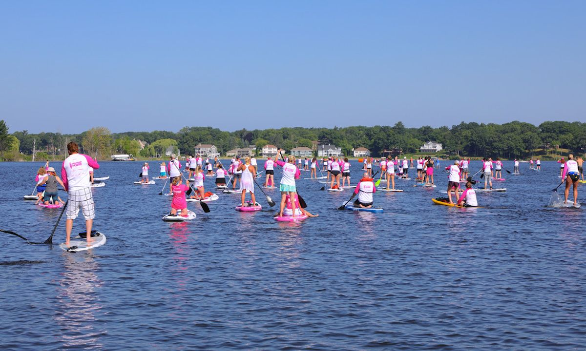 Standup for the Cure Muskegon event in 2019. | Photo courtesy: Standup for the Cure