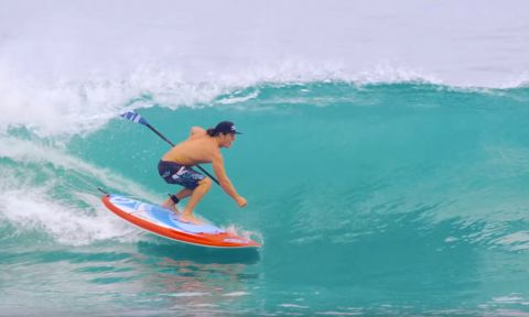 BIC SUP ambassador Connor Bonham getting good use from his Performer.