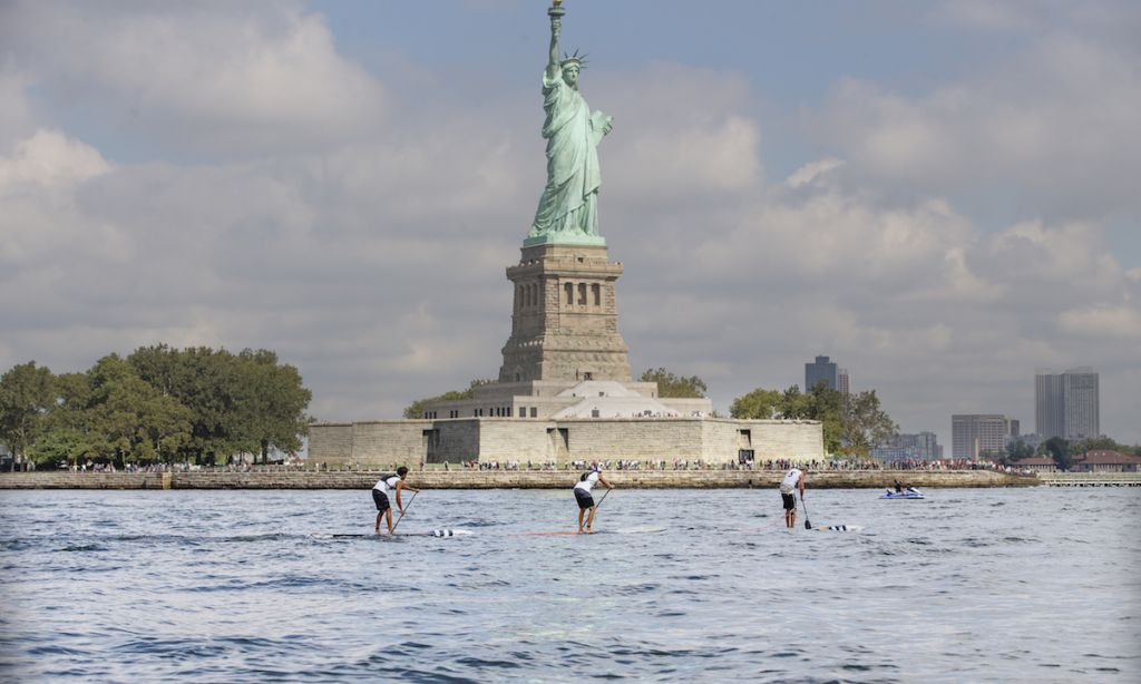 New York SUP Open Delivers on Hudson River Race