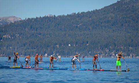Register early for Ta-Hoe Nalu and enter to win a GoPro! | Photo: Tahoe Nalu Paddle Festival