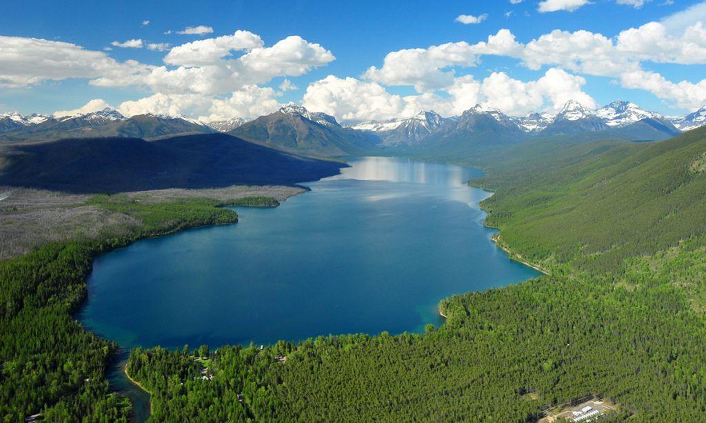 Paddle Boarding Lake McDonald, Glacier National Park