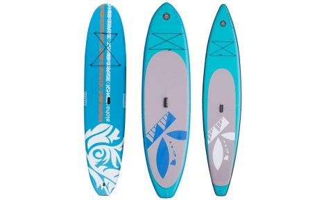 Inflatable stand up paddle boards, the Waikiki and Napali, join the initial soft top, Aloha offering.