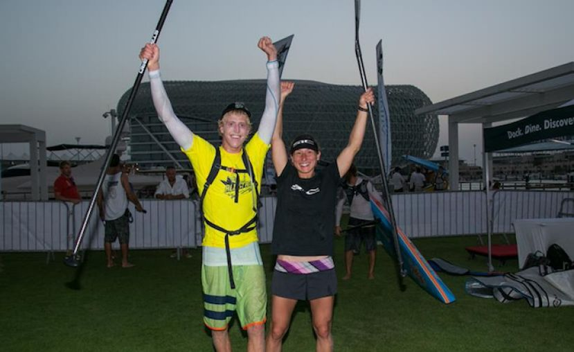 Baxter & Augaitis victorious On Day 1 Of World Series Racing At Yas Marina