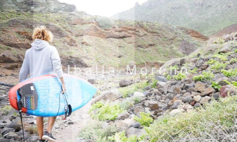 Iballa Moreno SUPs In Guanche Land