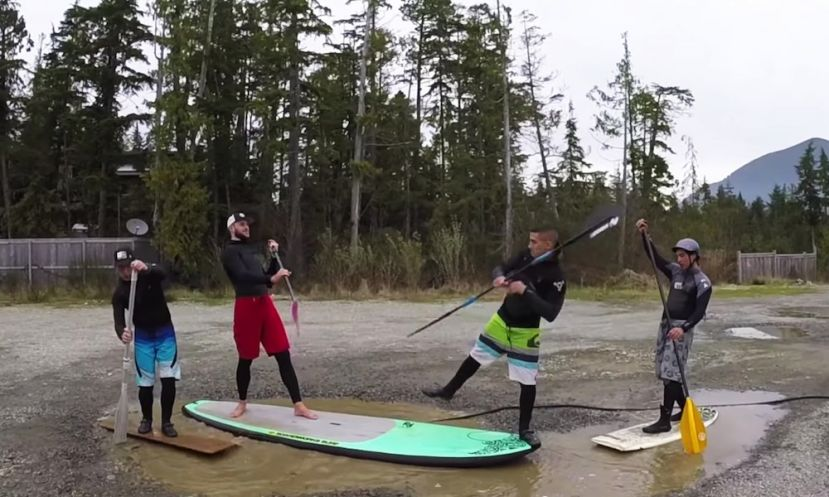Stand Up Puddleboarding