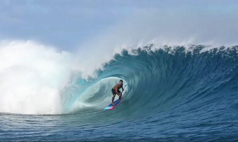 Zane Schweitzer Charging In Maui & Tahiti