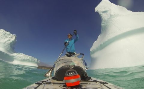 Bart de Zwart Tells His Arctic SUP Expedition Story