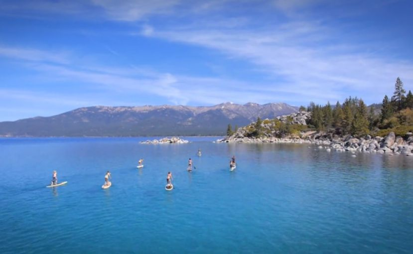 Amazing Lake Tahoe SUP Video