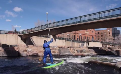 Stand Up Paddle In Denver, Colorado