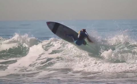 Sean Poynter Shreds On New Starboard SUP Pro