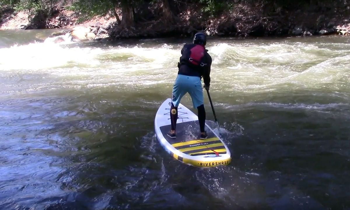 River Running Basics on a SUP