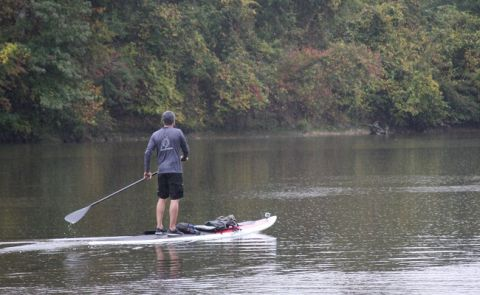 US Army Veteran Paddles Cape Fear River