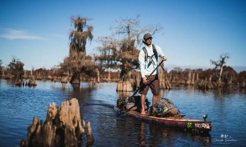 Gabriel explores the Dead Lakes and what's left during his expedition down the Apalachicola River. | Photos Courtesy: Desirée Gardner