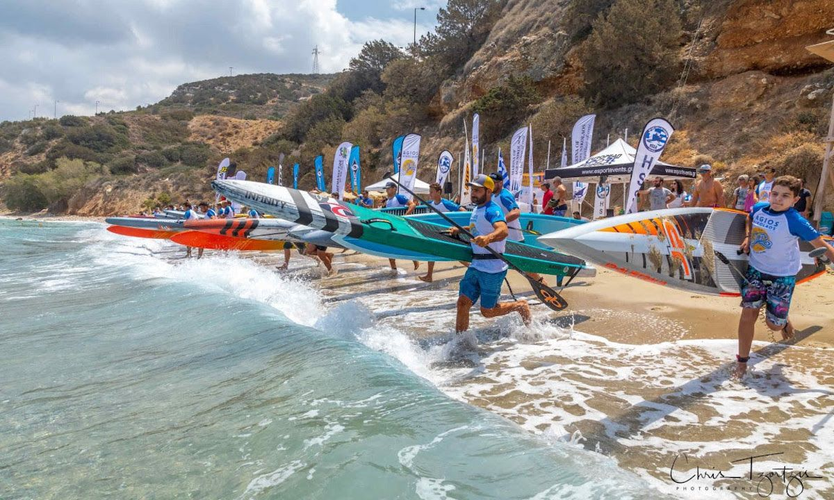Agios Nikolaos on SUP Becomes Greece Qualifier for ISA