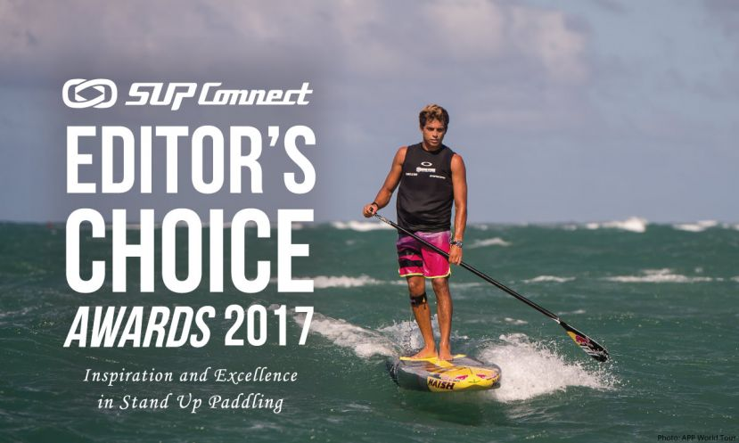 World Champion athlete Kai Lenny is sure to be in the running for SUP Man of the Year.