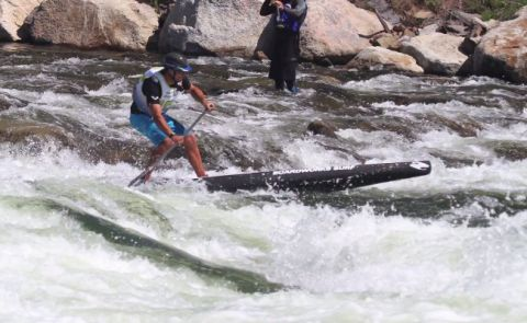 Mike T At The Payette River Games, 2014