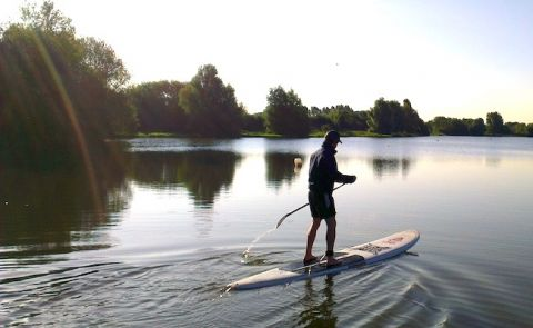 Timson to Paddle 101 Mile Non-Stop Solo SUP