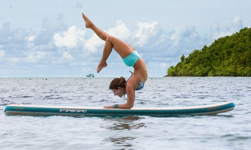 4 Advanced SUP Yoga Poses For Experienced Paddlers