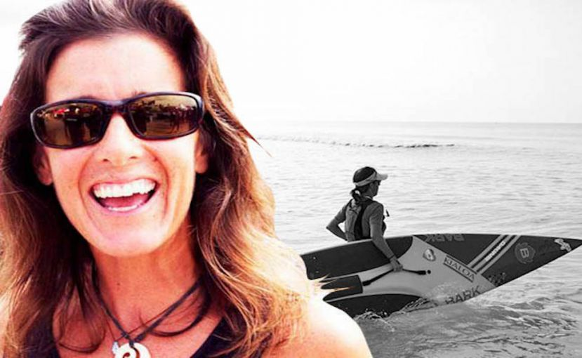 Heather Baus, the Stand Up Paddler
