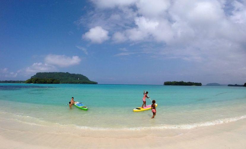 Paddle Boarding Espiritu Santo, Vanuatu