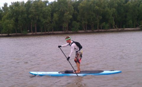 Alex Linnell Breaks SUP Distance Record
