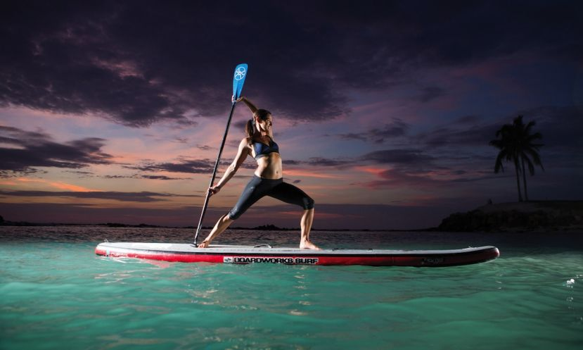How to Find Stability for SUP Yoga