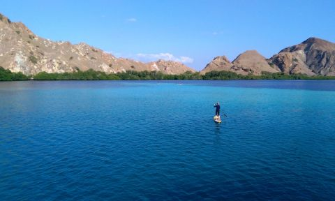 Komodo Islands are an undiscovered SUP paradise. | Photo: SUP Wilderness Adventures