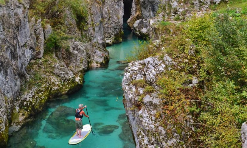 Soča river in Slovenia. | Photo: Ben Morton