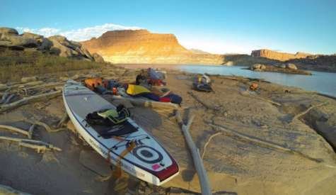 Lake Powell Expedition On A Standup Paddleboard