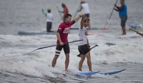 New York SUP Open Closes With Explosive Action in the Surf