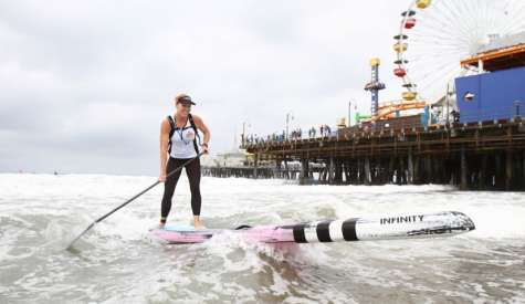 Trout and Appleby Win Big at Santa Monica Paddleboard Race & Ocean Festival