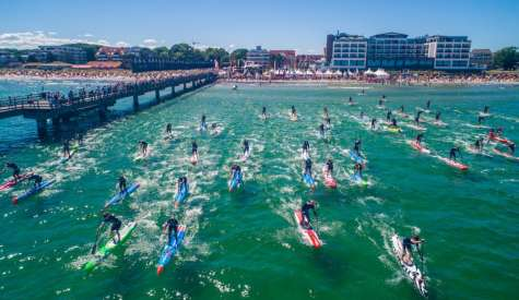 Paddle Battles Rule the Day at SUP World CUP