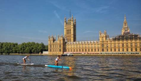 London SUP Open Showcases Race Elite in Fierce Competition