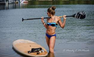 Swimwear That Works For The Female Paddle Boarder