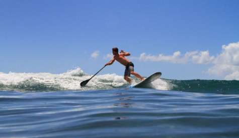 How To Do A Cross Bow Backside Turn On A Paddle Board
