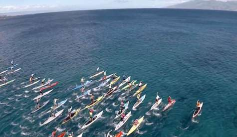 Awesome Drone Footage Of Maui To Molokai 2014