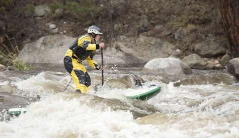Tips For Running Whitewater On A SUP