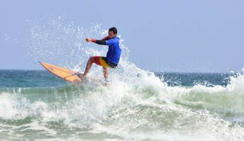 Frenchman Wins All-Waterman in Wrightsville SUP Surf Pro-Am