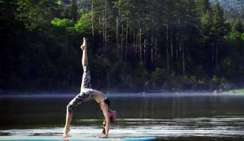 Discover SUP Yoga With Wanderlust