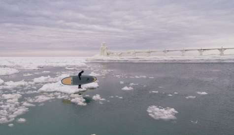 Paddle Boarding Among Icebergs - The Full Story