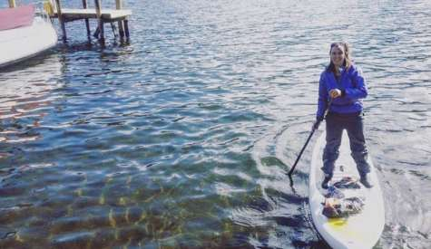UK Woman Paddles 3 Lakes In 3 Days