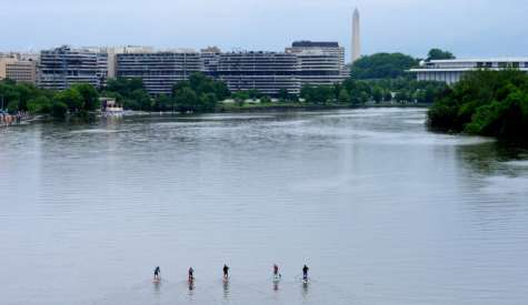 5 Stand Up Paddlers Trek 115 Miles Down The Potomac River
