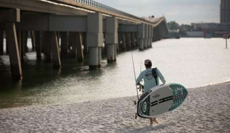 Hunter Harlow's 5 SUP Fishing Tips